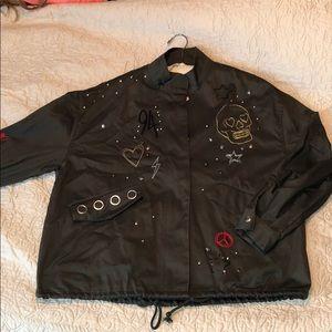 H&M army style blazer